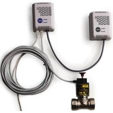 Система контроля загазованности КРИСТАЛЛ-МИНИ-2-25-К (CH4+CO+КЛАПАН)-ЭН