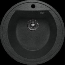 Мойка GRANFEST LIGHT GF-R-L 500 круглая цвет черный БЕЗ СИФОНА